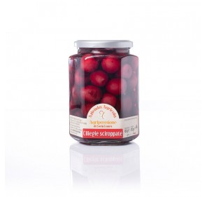 Cherries in natural syrup