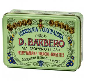 Boîte de nougats au chocolat
