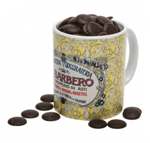 Barbero Tasse mit Schokolade