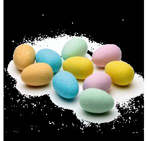 Gezuckerte Eier gefüllt mit...