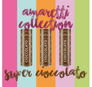 Amaretti - 3 tubes au chocolat