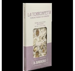 Torronetafel mit Mandeln