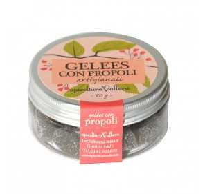 Jelly candies with propolis