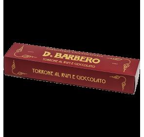 Rum chocolate torrone