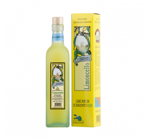 Limoncello made with...