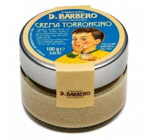 Torroncino cream with hazelnut