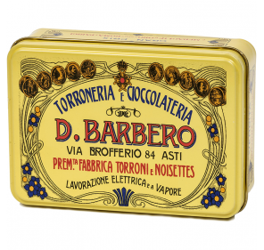 Giandujotti in elegant tin box